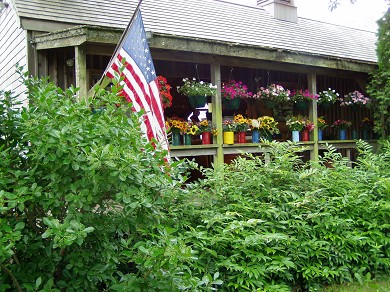 Edgartown Martha's Vineyard vacation rental - 5 minute walk on a dirt path to Morning Glory Farm