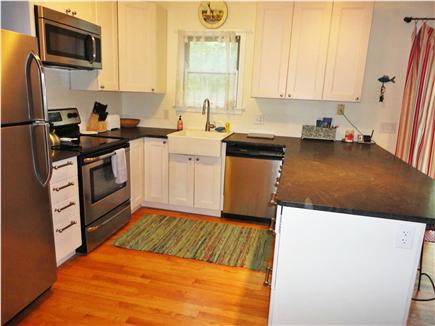 Edgartown Martha's Vineyard vacation rental - Brand new kitchen