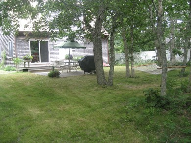 Edgartown Martha's Vineyard vacation rental - Backyard