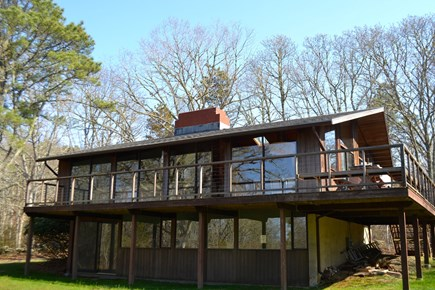 Chilmark Martha's Vineyard vacation rental - Plenty of windows and deck to relax and enjoy the outdoors