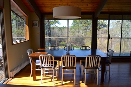 Chilmark Martha's Vineyard vacation rental - Lots of wood and open space