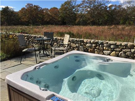 Edgartown Martha's Vineyard vacation rental - 6 person private hot tub