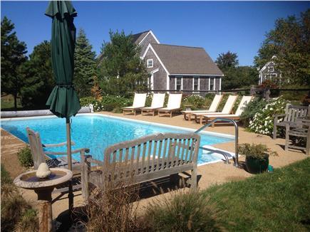 Edgartown Martha's Vineyard vacation rental - Edgartown Vacation Rental ID 7211 Relax by the pool