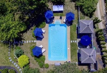 Edgartown Martha's Vineyard vacation rental - Solar Heated Mineral Salts Pool