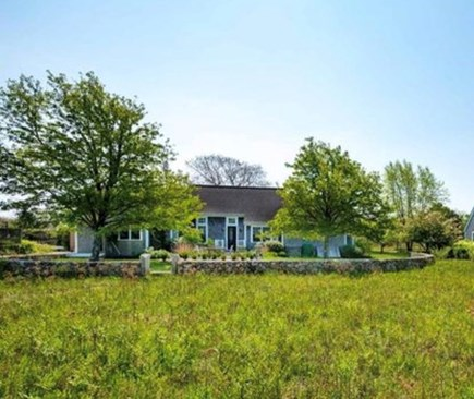 Edgartown Martha's Vineyard vacation rental - Guest House faces 2 acre meadow