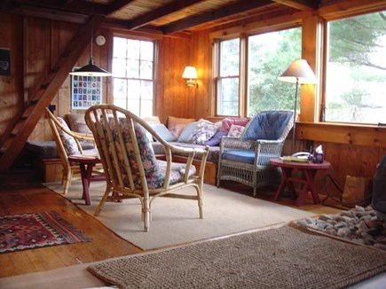 Vineyard Haven Martha's Vineyard vacation rental - Comfortable seating in the living area