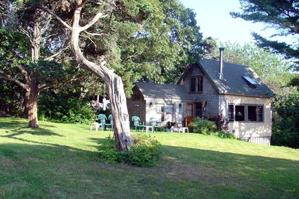 Vineyard Haven Martha's Vineyard vacation rental - Our cottage across the lawn