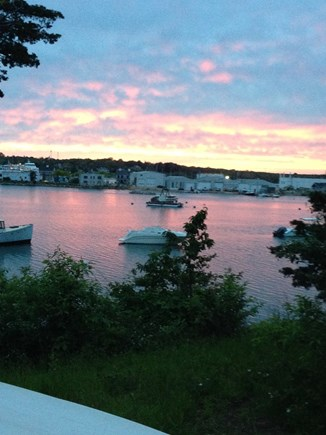 Vineyard Haven Martha's Vineyard vacation rental - Sunset over the lagoon