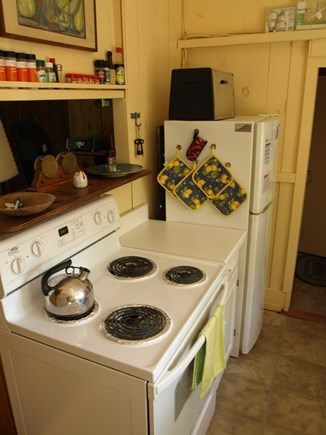 Vineyard Haven Martha's Vineyard vacation rental - Galley Kitchen cooking area