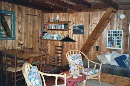 Vineyard Haven Martha's Vineyard vacation rental - Living/dining area