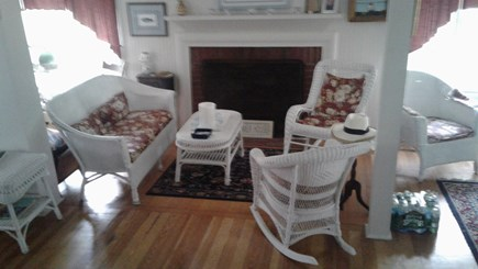 Oak Bluffs Martha's Vineyard vacation rental - Fire Place Living Room