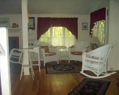 Oak Bluffs Martha's Vineyard vacation rental - Additional sitting area in the living room