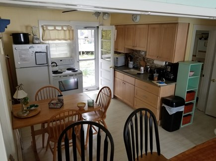 Vineyard Haven Martha's Vineyard vacation rental - Cozy kitchen. Should we grill tonight or have a clambake!!....