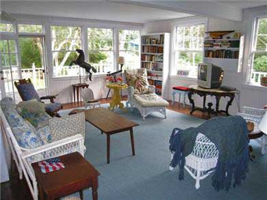 Oak Bluffs, East Chop Martha's Vineyard vacation rental - Sunroom
