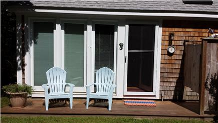Chilmark Martha's Vineyard vacation rental - Relax in Adirondack chairs, and enjoy the outside shower