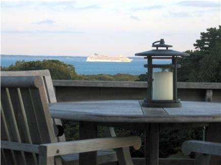 West Tisbury Martha's Vineyard vacation rental - Enjoy cool drinks and sunsets on upper deck