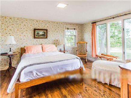 West Tisbury Martha's Vineyard vacation rental - Airy and tranquil downstairs master bedroom