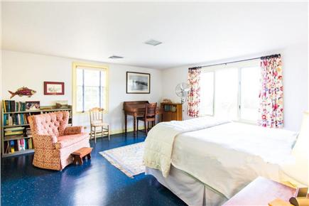 West Tisbury Martha's Vineyard vacation rental - Upstairs master bedroom with queen bed