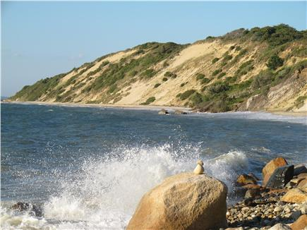 West Tisbury Martha's Vineyard vacation rental - Private Makonikey beaches an easy walk or drive and park