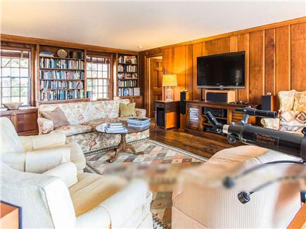 West Tisbury Martha's Vineyard vacation rental - HDTV and 5.1 channel sound ideal for movies, sports and music