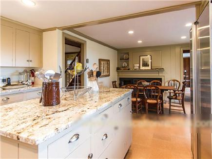 West Tisbury Martha's Vineyard vacation rental - Kitchen's center island makes for easy cooking