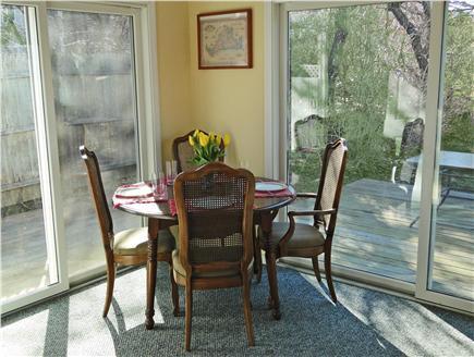 Edgartown Martha's Vineyard vacation rental - Dining area