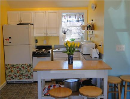 Edgartown Martha's Vineyard vacation rental - Kitchen area