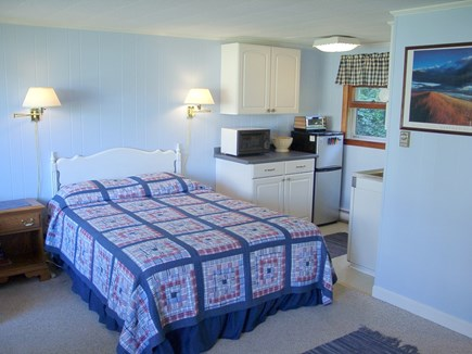 Vineyard Haven Martha's Vineyard vacation rental - Queen sized bed and galley kitchen