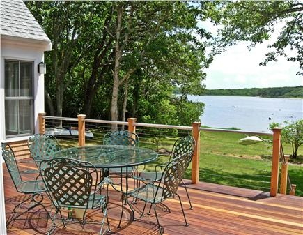 Edgartown Martha's Vineyard vacation rental - View from deck