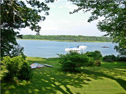 Edgartown Martha's Vineyard vacation rental - View of Major's Cove from our back yard
