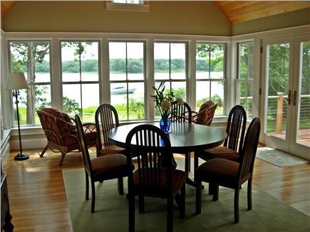 Edgartown Martha's Vineyard vacation rental - Sun Room/Dining Room