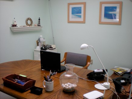 Edgartown Martha's Vineyard vacation rental - Skylit home office with printer, fax, scanner and wifi.