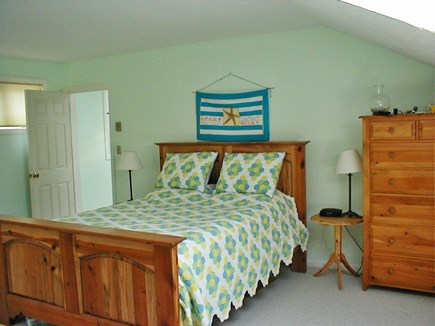 Edgartown Martha's Vineyard vacation rental - Upstairs Bedroom with Skylight
