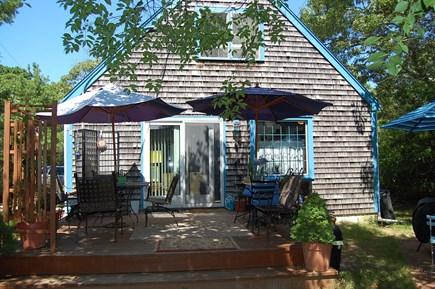 Oak Bluffs Martha's Vineyard vacation rental - Full view of deck.