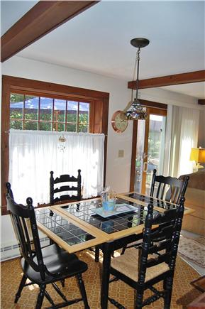 Oak Bluffs Martha's Vineyard vacation rental - Dining Area (seats 6-8) adjacent to open Living Room area