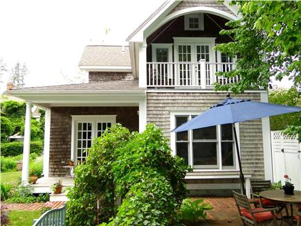 Edgartown Martha's Vineyard vacation rental - Adorable cottage with lovely gardens, upper deck, patio