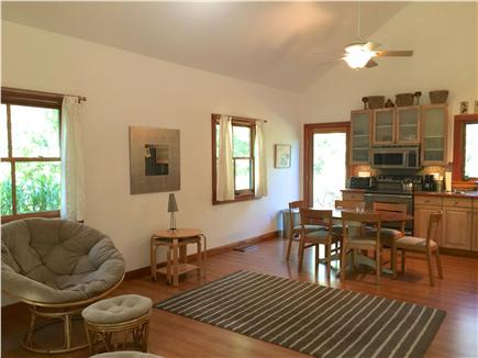 West Tisbury Martha's Vineyard vacation rental - Left side of living/dining area