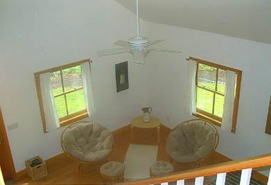 West Tisbury Martha's Vineyard vacation rental - Sitting area in living room
