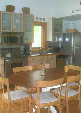 West Tisbury Martha's Vineyard vacation rental - Kitchen and dining area
