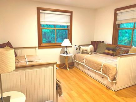 West Tisbury Martha's Vineyard vacation rental - Downstairs bedroom w 2 twin daybeds