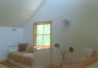 West Tisbury Martha's Vineyard vacation rental - Right side of loft- other day bed not seen on left