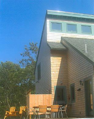 West Tisbury Martha's Vineyard vacation rental - Full size deck