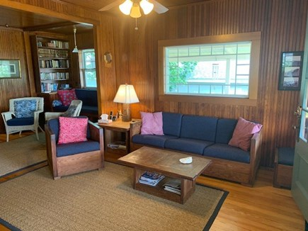 Oak Bluffs, Highlands Section of East Chop Martha's Vineyard vacation rental - Cozy living & family room: Great for games, naps, conversation