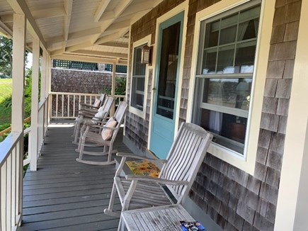 Oak Bluffs, Highlands Section of East Chop Martha's Vineyard vacation rental - Everyone's favorite spot to hang out
