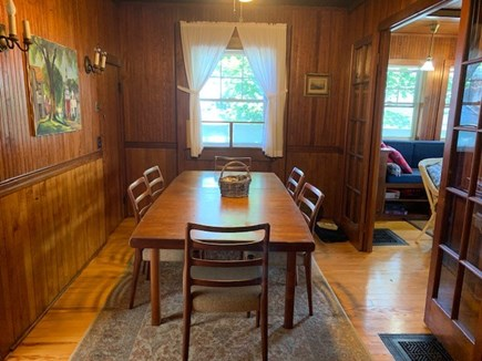 Oak Bluffs, Highlands Section of East Chop Martha's Vineyard vacation rental - Perfect for family dinners
