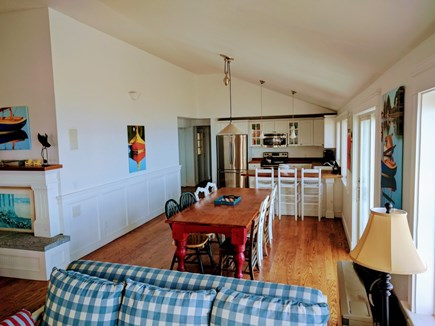 Oak Bluffs, East Chop Martha's Vineyard vacation rental - Kitchen and Dining