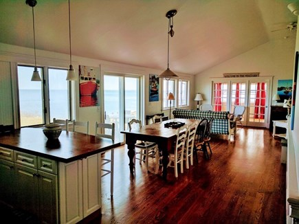 Oak Bluffs, East Chop Martha's Vineyard vacation rental - Dining and Living