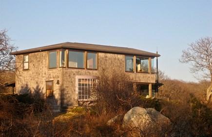 Aquinnah Martha's Vineyard vacation rental - Aquinnah House from South Side