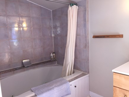 Aquinnah Martha's Vineyard vacation rental - Upstairs  Bath - Fits Two with Jets