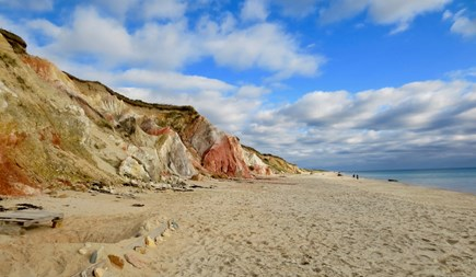 Aquinnah Martha's Vineyard vacation rental - Gay Head Beach and Cliffs - Short Walk from House